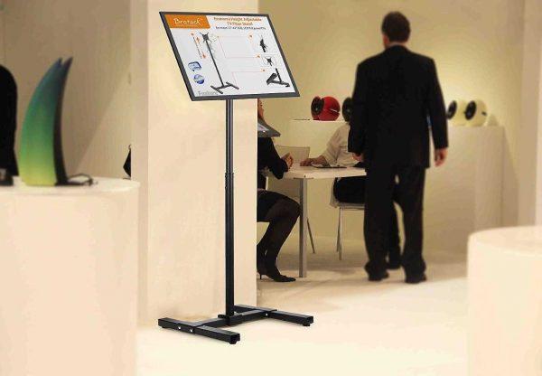 tv staander presentatie