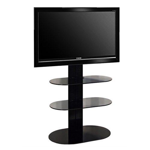 L&C Totem 1500 Base TV Meubel Zwart