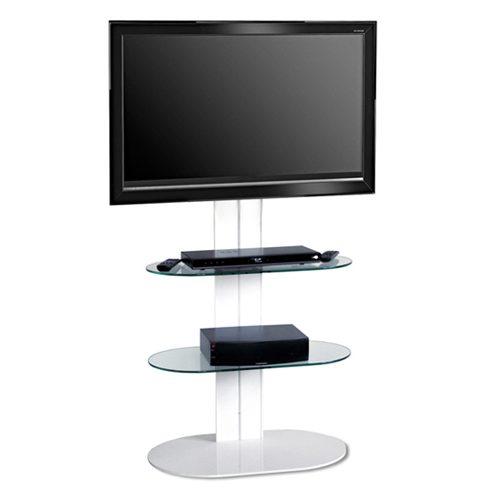 L&C Totem 1500 Base TV Meubel Wit