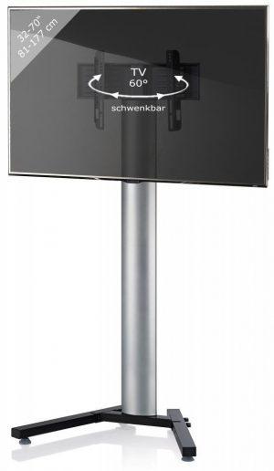 TV standaard Stadino Maxi zilver