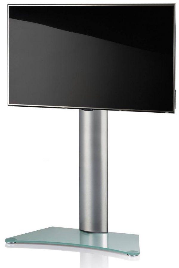 TV standaard Findal draaibaar zilver