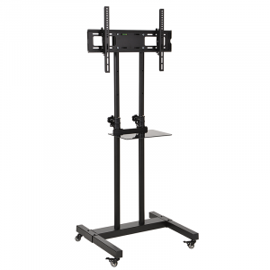 DQ Hestia 600 TV Floorstand Black