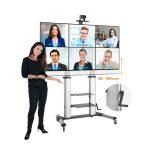 tv standaard verrijdbaar in hoogte verstelbaar