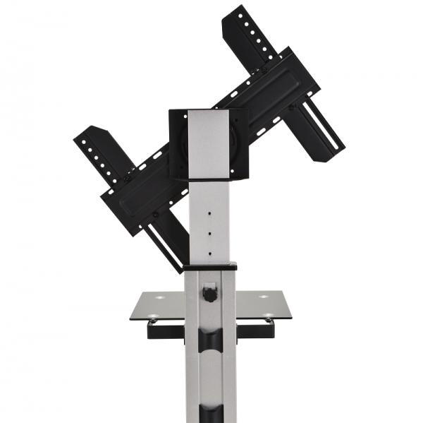 DQ Silver Bullit Telescopisch in hoogte verstelbaar (120-180 cm)
